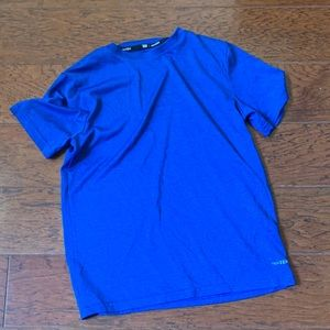 Blue dry fit athletic short sleeve nwot